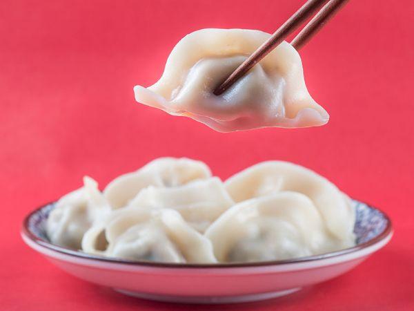 胡萝卜豆腐水饺
