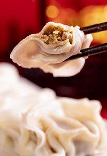 白菜肉水饺